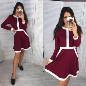 Платье короткое современное Ш0728