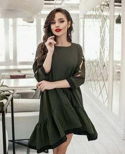 Платье короткое современное А39111