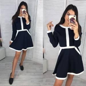 Платье короткое современное Ш0729