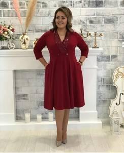 Платье короткое нарядное Ш8982