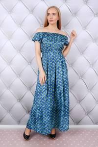 Платье длинное летнее Ц5974