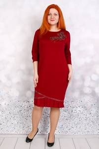 Платье короткое нарядное Ц5978