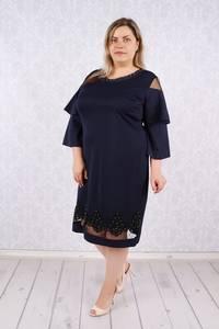 Платье короткое нарядное Ц5981