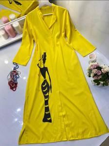 Платье длинное летнее А53348