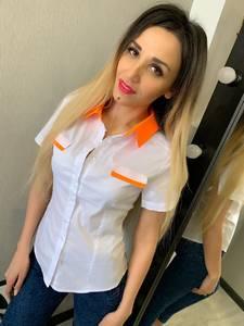 Рубашка с коротким рукавом Ц9201