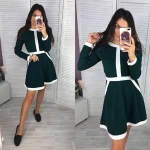 Платье короткое современное Ш0730