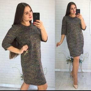 Платье короткое повседневное Ш0731