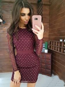 Платье короткое облегающее Я4750
