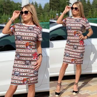 Платье короткое летнее Ц8594