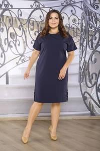Платье короткое офисное Ч4263