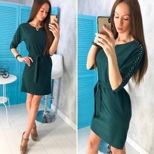 Платье короткое нарядное современное Х8466