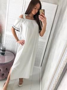 Платье длинное нарядное Ц4986