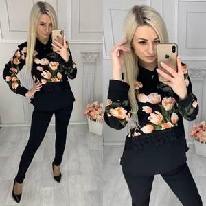 Блуза с длинным рукавом Х9508