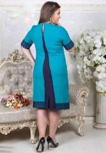 Платье короткое нарядное однотонное Х8657