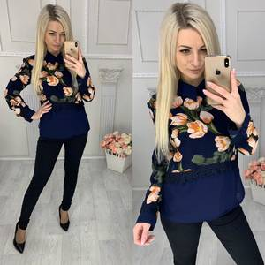 Блуза с длинным рукавом Х9509