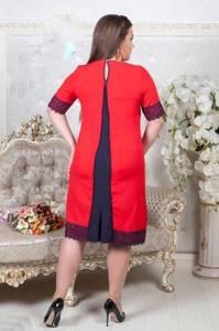 Платье короткое нарядное однотонное Х8658