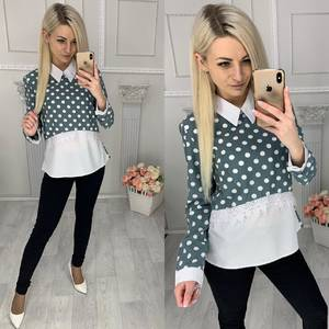 Блуза с длинным рукавом Х9510