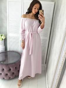 Платье длинное нарядное Ц4990