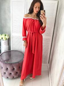 Платье длинное нарядное Ц4991