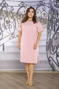 Платье короткое офисное Ч4264