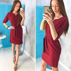 Платье короткое нарядное современное Х8467