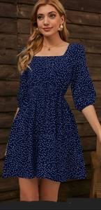 Платье короткое современное А47602