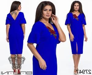 Платье короткое нарядное Ч3778