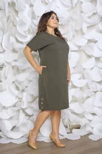 Платье короткое офисное Ч4265