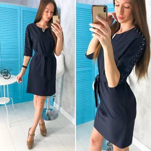 Платье короткое нарядное современное Х8468