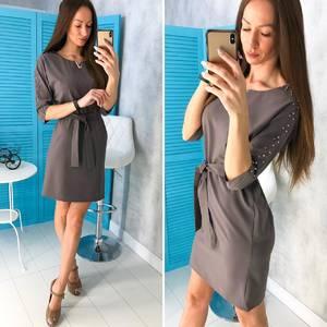 Платье короткое нарядное современное Х8469