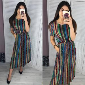 Платье длинное летнее Ч3295