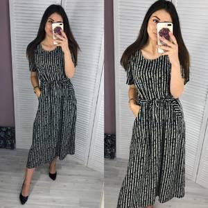 Платье длинное летнее Ч3296