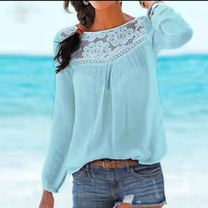 Блуза с длинным рукавом Я3884