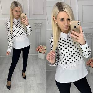 Блуза с длинным рукавом Х9506