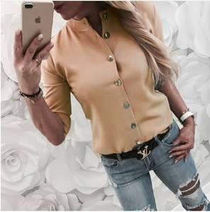 Рубашка однотонная А53962