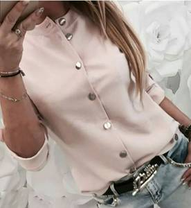 Рубашка однотонная А53963