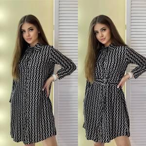 Платье короткое современное А57424