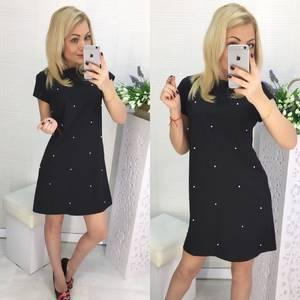 Платье короткое нарядное современное Х8067