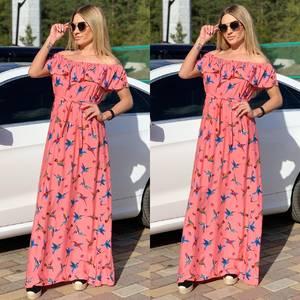 Платье длинное нарядное Ч2552