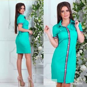 Платье короткое летнее Ч3779