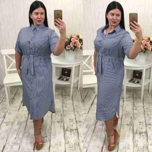 Платье длинное летнее с коротким рукавом Х1478
