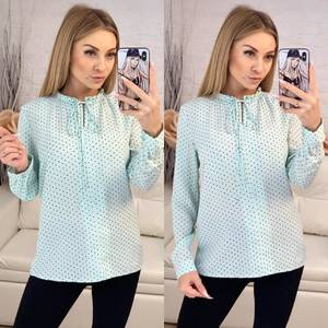 Блуза с длинным рукавом Х8162