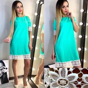 Платье короткое нарядное современное Х8084