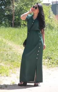 Платье длинное летнее Х7979