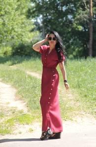 Платье длинное летнее Х7980