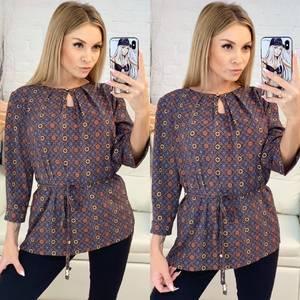 Блуза для офиса Х7034