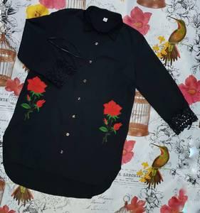 Рубашка однотонная Х7963