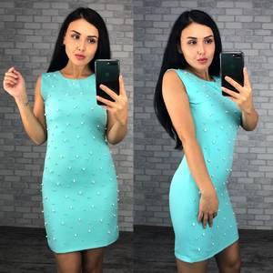 Платье короткое нарядное летнее Ф4071