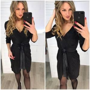 Платье короткое нарядное с рукавом 3/4 Ф7248
