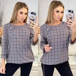 Блуза для офиса Х7035